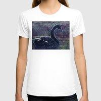 black swan T-shirts featuring Black swan by jbjart