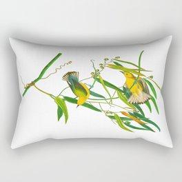Prothonotary Warbler Bird Rectangular Pillow