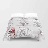 les miserables Duvet Covers featuring Les Amis by Pruoviare