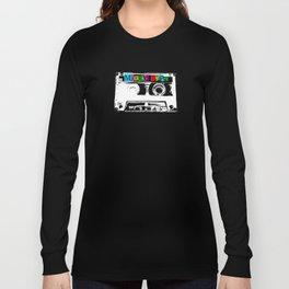 Mixed Tape Cassette Long Sleeve T-shirt