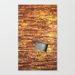 Fire and Shadow Canvas Print