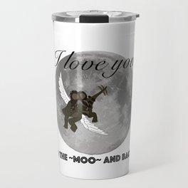 To The Moo And Back Travel Mug