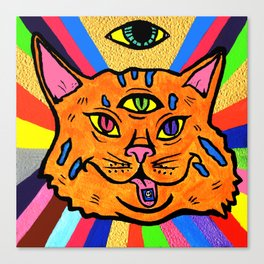 Cat Trip  Canvas Print