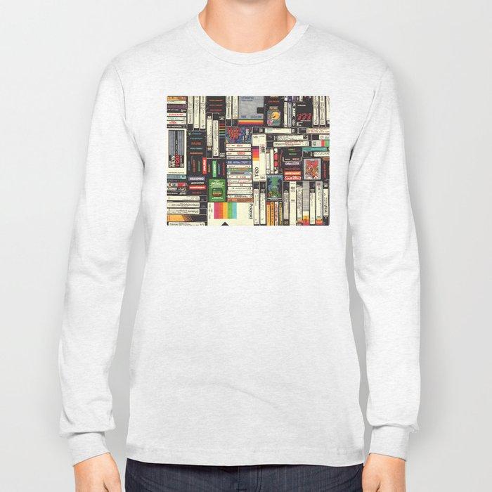 Cassettes, VHS & Games Long Sleeve T-shirt