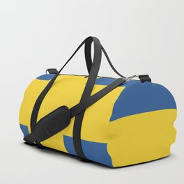 Sweden flag emblem Duffle Bag