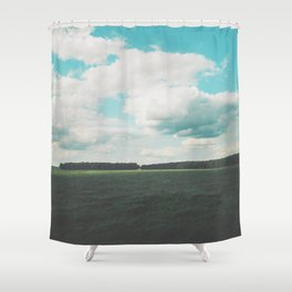 German landscape Shower Curtain