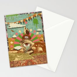 AFTERNOON PSYCHEDELIA Stationery Cards