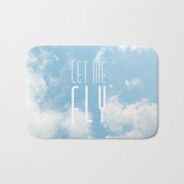 Let me fly Bath Mat