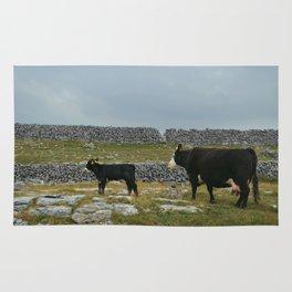 Cows in Ireland Rug