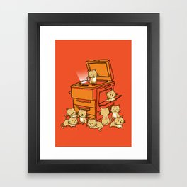 The Original Copycat Framed Art Print