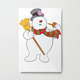Frosty The Snowman New Sku Metal Print