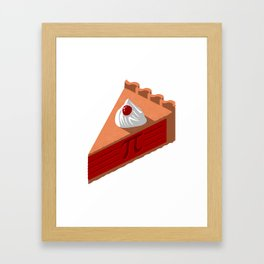 Easy as Pi Framed Art Print