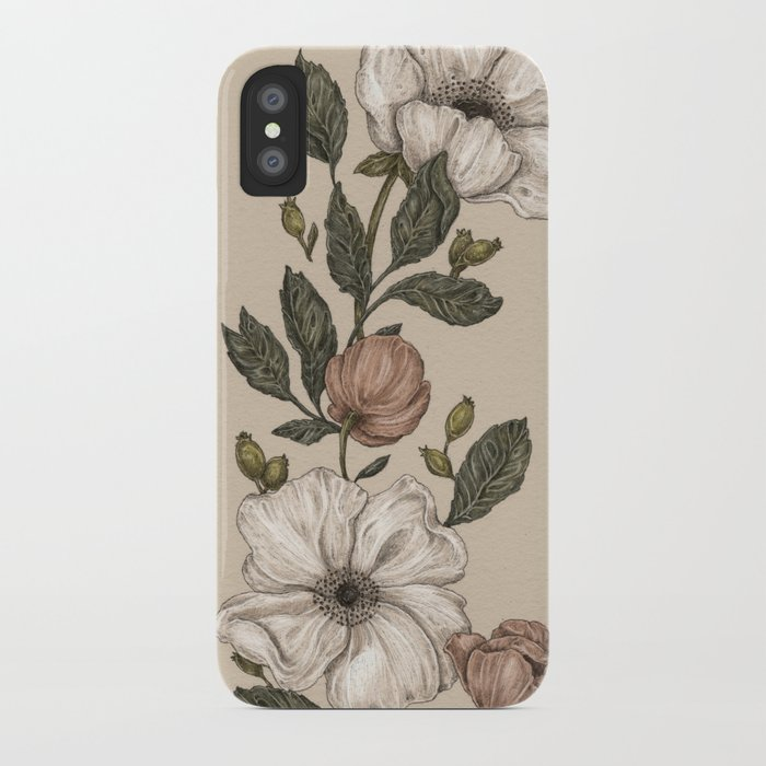 Floral Laurel iPhone Case
