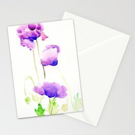 Hungarian Blue Stationery Cards
