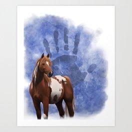 Ethnic Horse Art Print