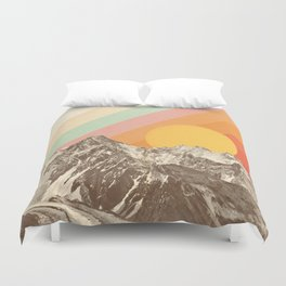 Mountainscape 1 Duvet Cover