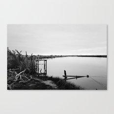 Whitebaiting Canvas Print