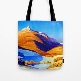 Rockwell Kent Vermont Study Tote Bag