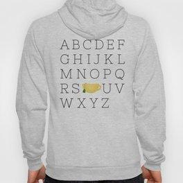 Alphabet Tea Hoody