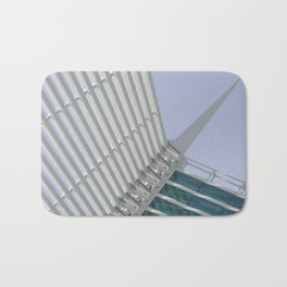 Milwaukee V Architecture by CALATRAVA Architect Bath Mat