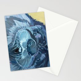 Mustache the Otter Stationery Cards