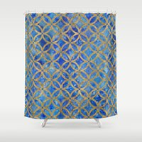 new year Shower Curtains featuring New year by Edling art