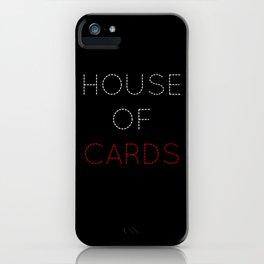 HOC: Frank Underwood - tvshow iPhone Case