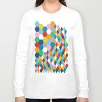 honeycomb Long Sleeve T-shirts featuring Honeycomb by Project M