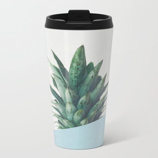 Pineapple Dip II Metal Travel Mug