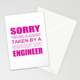 Taken By An Engineer Stationery Cards