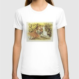 Tiger in free Wilderness T-shirt
