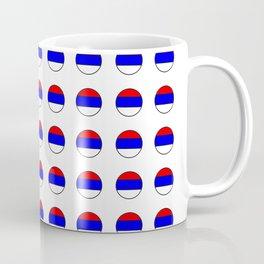 flag of Serbia 3-balkan,serbian,europe,yugoslavia, Pannonian,Belgrade,Novi Sad,nis,kragujevac Coffee Mug