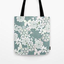 Papercut snowdrops Tote Bag