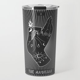 Minimal Tarot Deck The Magician Travel Mug