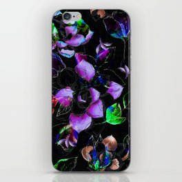 beauty floral xxi iPhone Skin