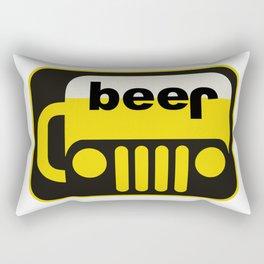 jeep beer mugs parody Rectangular Pillow
