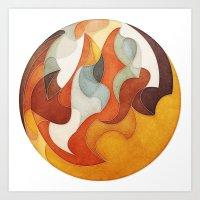 The Flow of Things Art Print