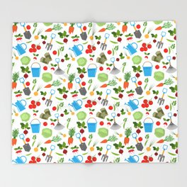 gardener Throw Blanket