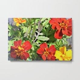 Nursery Flowers Metal Print