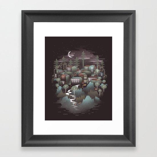 The North Framed Art Print