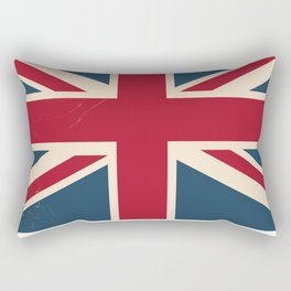 Great Britain Rail poster Rectangular Pillow