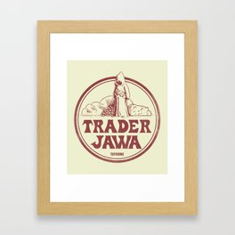 Trader Jawa Framed Art Print
