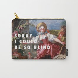Jean-Honoré Fragonard, Blind-Man's Buff (1750 - 1752) / Halsey, Sorry (2017) Carry-All Pouch