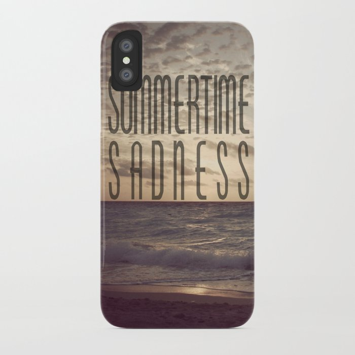 SUMMERTIME SADNESS iPhone Case