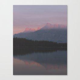 Vermillion Lake Canvas Print