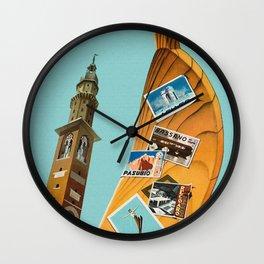 Vintage Vicenza Italy Travel Wall Clock