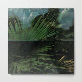 Dark Palm Metal Print