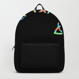 Rainbow Triquetra Backpack