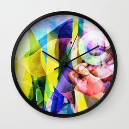 SuperDemon II Wall Clock