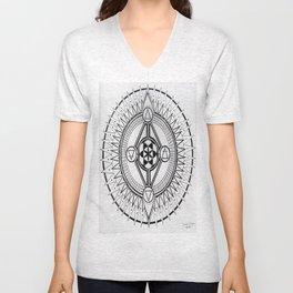 Element Mandala Unisex V-Neck